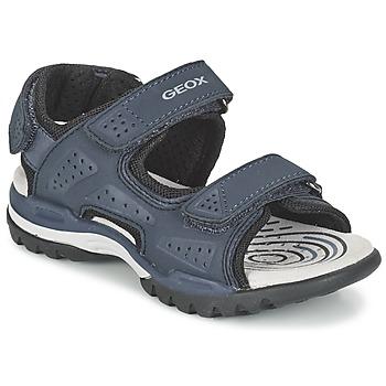 鞋子 男孩 运动凉鞋 Geox 健乐士 J BOREALIS B. B 海蓝色
