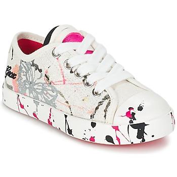 鞋子 儿童 球鞋基本款 Geox 健乐士 J CIAK G. D 白色 / 玫瑰色