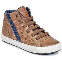 鞋子 男孩 高帮鞋 Geox 健乐士 J ALONISSO B. B 棕色