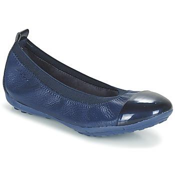 鞋子 女孩 平底鞋 Geox 健乐士 J PIUMA BALL B 海蓝色