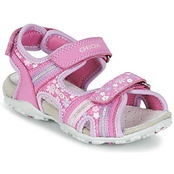 鞋子 女孩 运动凉鞋 Geox 健乐士 J S.ROXANNE A 玫瑰色