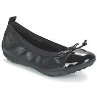 鞋子 女孩 平底鞋 Geox 健乐士 J PIUMA BAL F 黑色