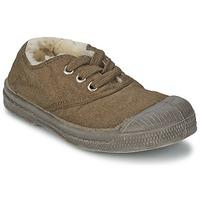 鞋子 儿童 球鞋基本款 Bensimon TENNIS FOURREES 棕色