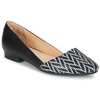 鞋子 女士 平底鞋 Hush puppies 暇步士 JOVANNA 黑色 / 白色