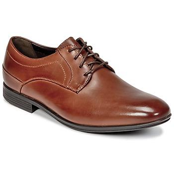 鞋子 男士 德比 Rockport 乐步 SC PLAIN TOE 棕色