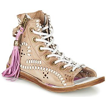 鞋子 女士 凉鞋 Airstep / A.S.98 RAMOS 棕色 / 米色