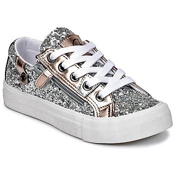 鞋子 女孩 球鞋基本款 Kaporal AMBERA 银灰色