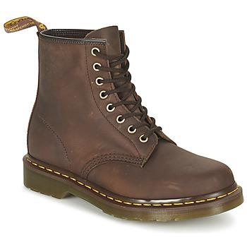 鞋子 短筒靴 Dr Martens 1460 棕色 / Fonce