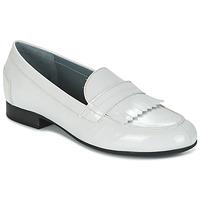 鞋子 女士 皮便鞋 Arcus NATICE 白色