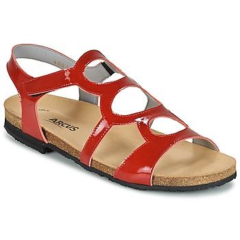 鞋子 女士 凉鞋 Arcus BERNER 红色