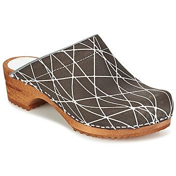 鞋子 女士 洞洞鞋/圆头拖鞋 Sanita ARLA -煤灰色
