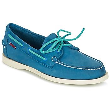 鞋子 男士 船鞋 Sebago 仕品高 DOCKSIDES 蓝色