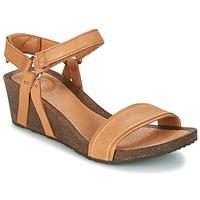 鞋子 女士 凉鞋 Teva YSIDRO STITCH WEDGE 棕色