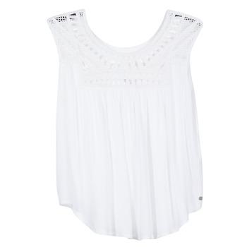 衣服 女士 无领短袖套衫/无袖T恤 Rip Curl 里普柯尔 AMOROSA TOP 白色