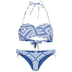 衣服 女士 泳装两件套 Rip Curl 里普柯尔 DEL SOL BANDEAU SET 蓝色 / 白色