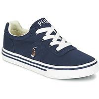 鞋子 男孩 球鞋基本款 Ralph Lauren HANFORD 海蓝色