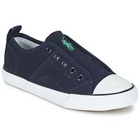 鞋子 男孩 球鞋基本款 Ralph Lauren RYLAND 海蓝色