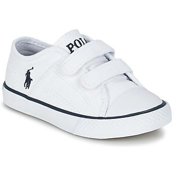鞋子 儿童 球鞋基本款 Ralph Lauren DYLAND EZ 白色