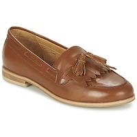 鞋子 女士 皮便鞋 Ravel TILDEN 驼色