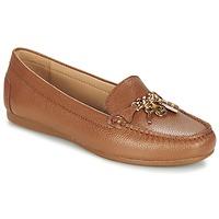 鞋子 女士 皮便鞋 Michael by Michael Kors SUKI MOC 棕色