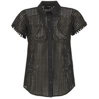 衣服 女士 衬衣/长袖衬衫 Love Moschino WCC0480 黑色