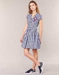 衣服 女士 短裙 Love Moschino WVF3001 蓝色 / 白色
