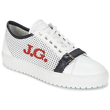 鞋子 男士 球鞋基本款 John Galliano 2477CA 白色