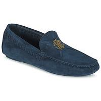 鞋子 男士 皮便鞋 Roberto Cavalli 罗伯特·卡沃利 2022A 蓝色