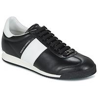 鞋子 男士 球鞋基本款 Roberto Cavalli 罗伯特·卡沃利 2042A 黑色 / 白色