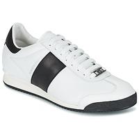 鞋子 男士 球鞋基本款 Roberto Cavalli 罗伯特·卡沃利 2042C 白色 / 黑色