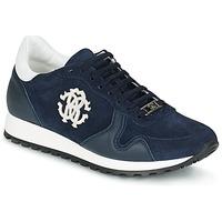 鞋子 男士 球鞋基本款 Roberto Cavalli 罗伯特·卡沃利 2058A 海蓝色