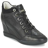 鞋子 女士 高帮鞋 Geox 健乐士 ELENI C 黑色
