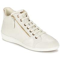 鞋子 女士 高帮鞋 Geox 健乐士 MYRIA 白色