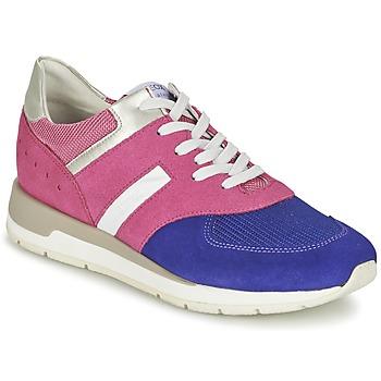 鞋子 女士 球鞋基本款 Geox 健乐士 SHAHIRA A 玫瑰色 / 紫罗兰