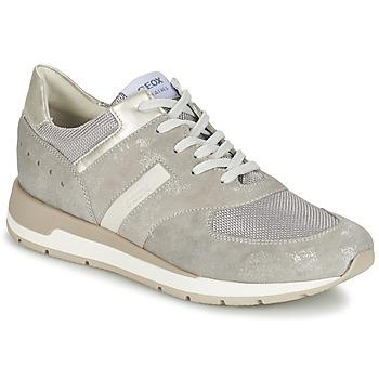 鞋子 女士 球鞋基本款 Geox 健乐士 SHAHIRA A 灰色