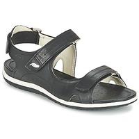 鞋子 女士 运动凉鞋 Geox 健乐士 D SAND.VEGA A 黑色