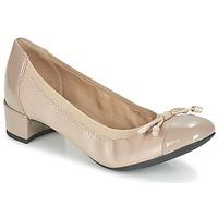 鞋子 女士 高跟鞋 Geox 健乐士 D CAREY A 灰褐色