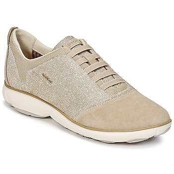 鞋子 女士 球鞋基本款 Geox 健乐士 D NEBULA G 灰褐色