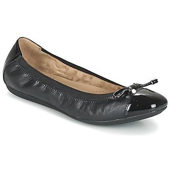 鞋子 女士 平底鞋 Geox 健乐士 D LOLA 2FIT C 黑色