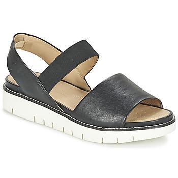 鞋子 女士 凉鞋 Geox 健乐士 D DARLINE C 黑色