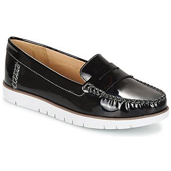 鞋子 女士 德比 Geox 健乐士 D KOOKEAN F 黑色