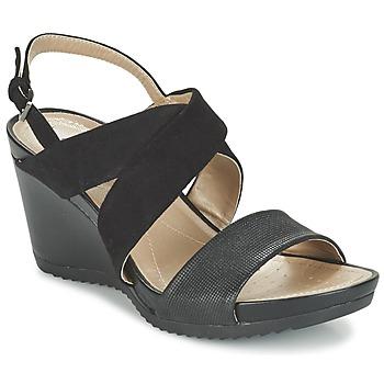 鞋子 女士 凉鞋 Geox 健乐士 D NEW RORIE A 黑色