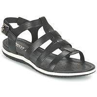 鞋子 女士 凉鞋 Geox 健乐士 D SAND.VEGA A 黑色