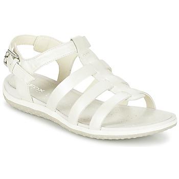 鞋子 女士 凉鞋 Geox 健乐士 D SAND.VEGA A 白色