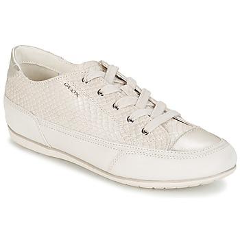 鞋子 女士 球鞋基本款 Geox 健乐士 NEW MOENA 白色