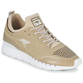 鞋子 球鞋基本款 Kangaroos COIL 2.0 MONO 米色