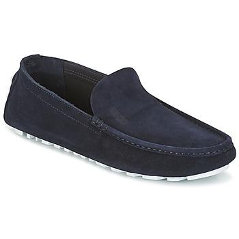 鞋子 男士 皮便鞋 Kenzo LAN 海蓝色