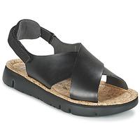 鞋子 女士 凉鞋 Camper 看步 ORUGA 黑色