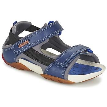 鞋子 男孩 凉鞋 Camper 看步 OUS 海蓝色