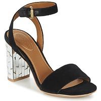 鞋子 女士 涼鞋 See by Chloé SB28001 黑色 / 天鵝絨